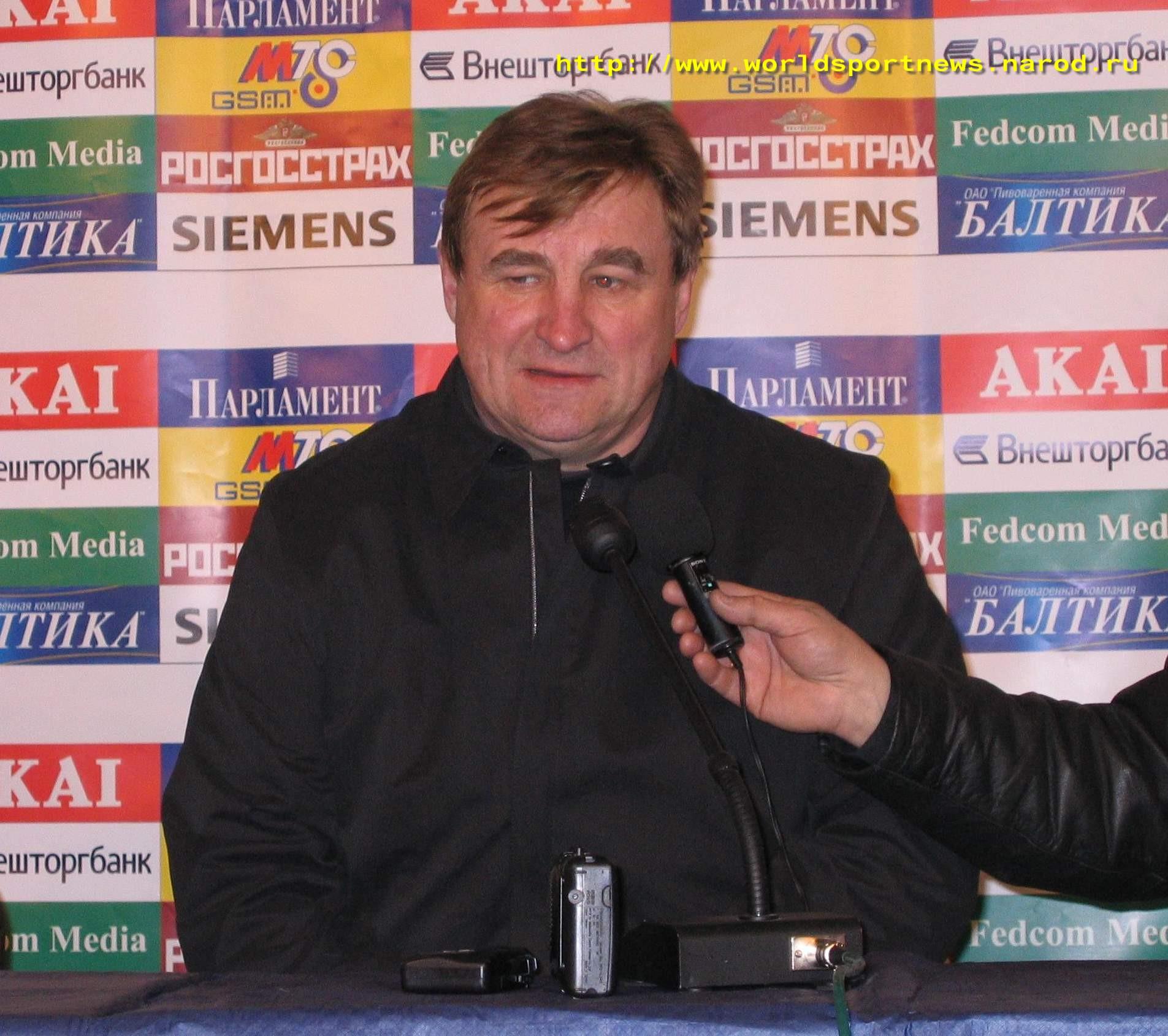 2 Апреля 2005 Главный Тренер Команды «Петротрест» В.А.Казаченок