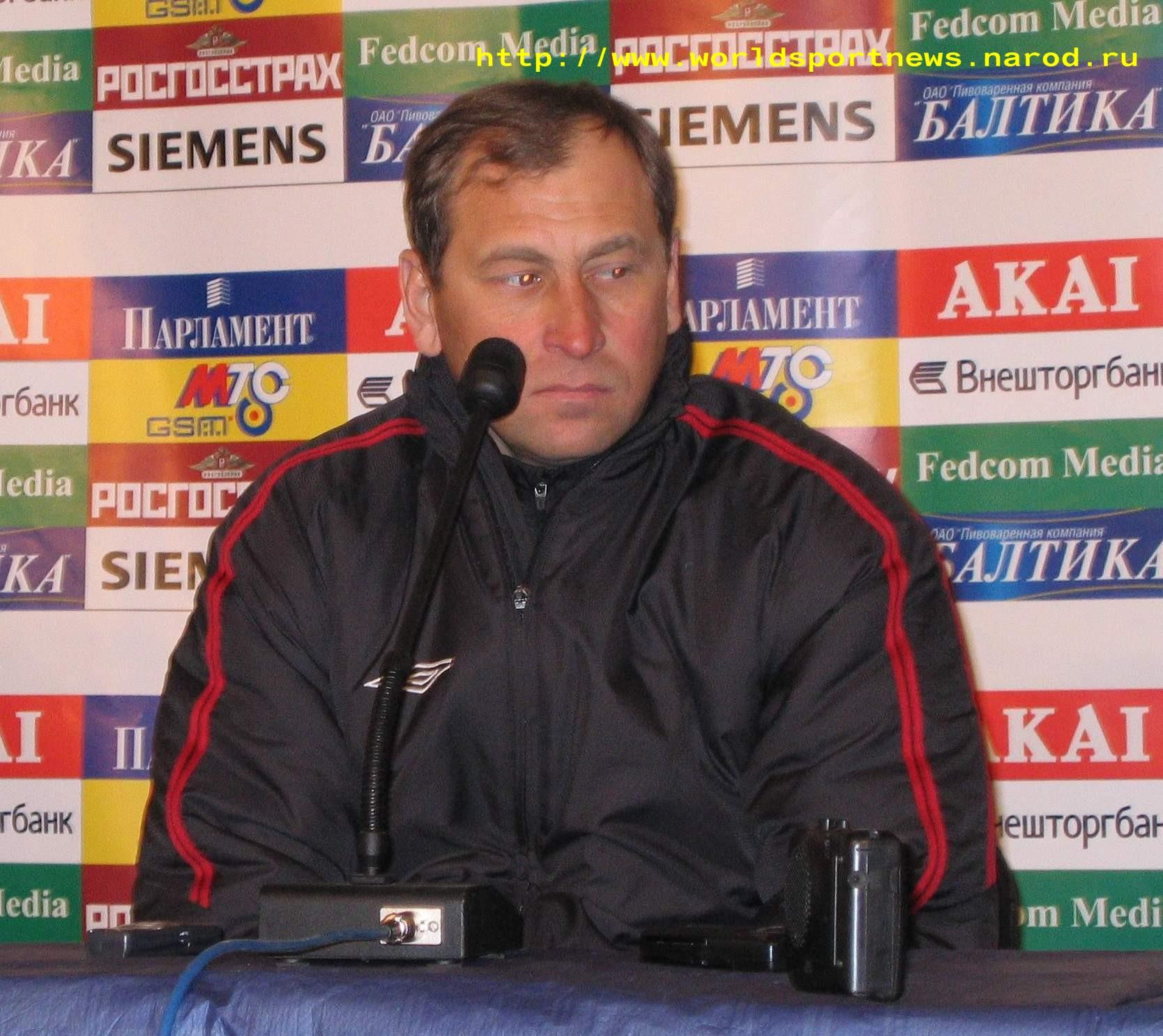 2 Апреля 2005 Главный Тренер Команды «Химки» П.Л.Яковенко