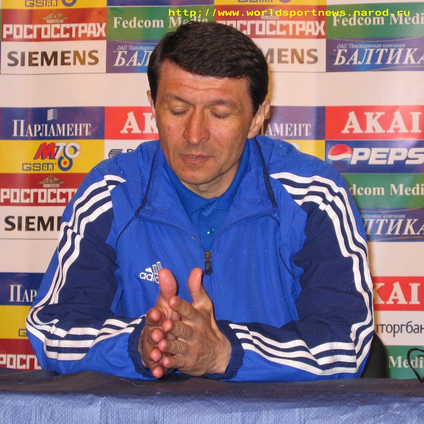 9 Апреля 2005 Главный Тренер Команды «Камаз» Ю.Ф.Газаев