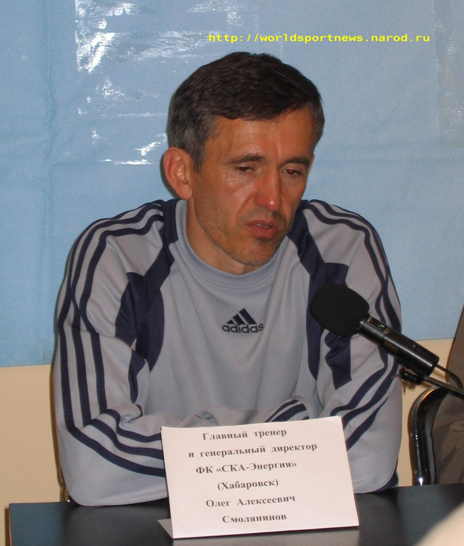 15 Июня 2005 Главный Тренер Команды «СКА-Энергия» О.А.Смолянинов