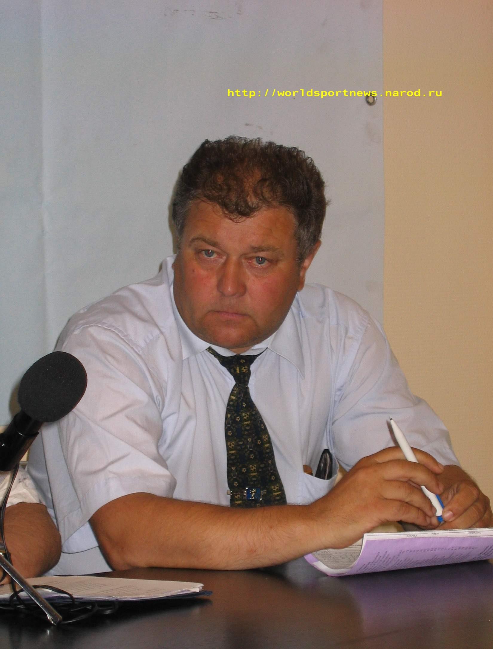 6 Июля 2005 Нач. команды «Петротрест» В.В.Белавин