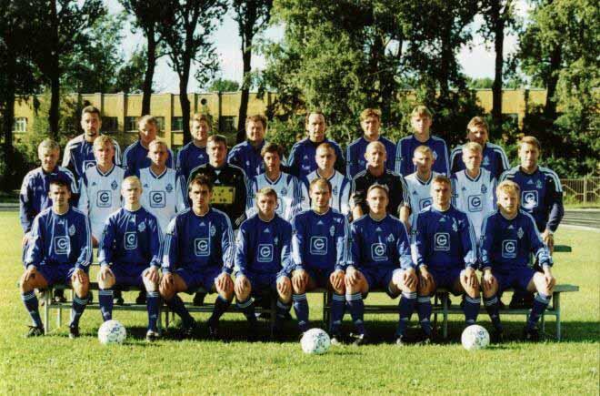 Динамо СПб 2001-02.