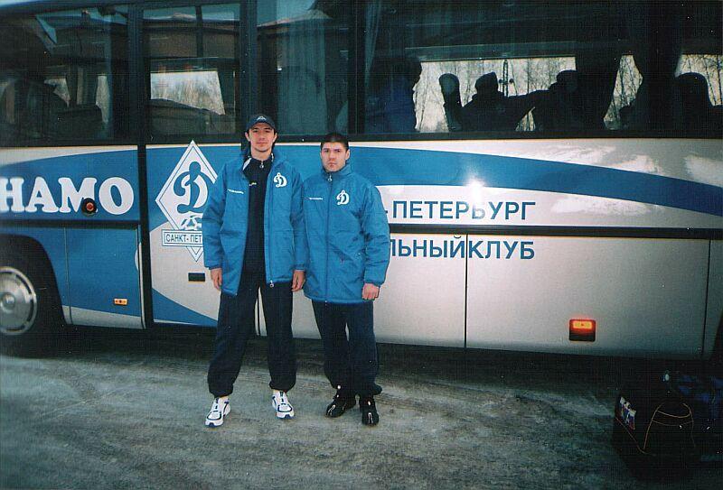 Игорь Палачев и Денис Переменин.