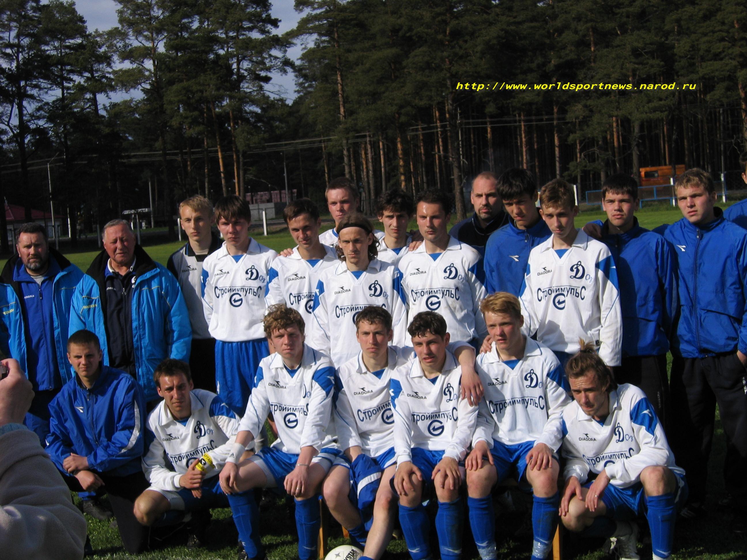Команда Приозерск 2004